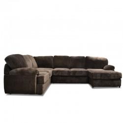 Keywest Modular Sofa Choco Fabric SAM