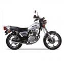 Suzuki GN125 Silver 124cc Motorbike