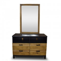 Briony Dressing Table With Mirror