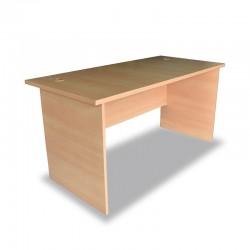 Stema desk 1600x750 Melamine modesty panel