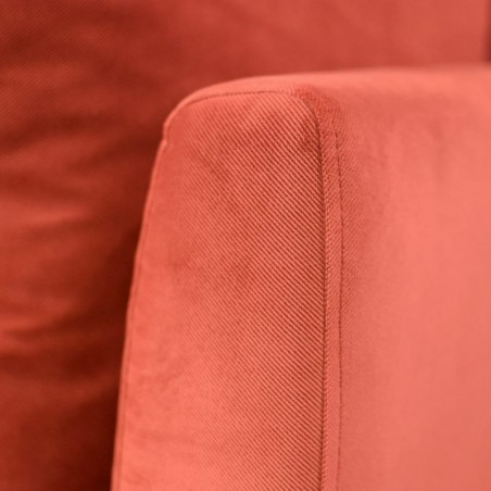 Jaguar Accent Chair Oakley Mocha Col Fabric