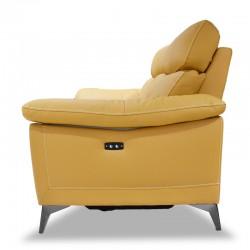 Primo Sofa LVST+3S Mustard Color H/L+PVC