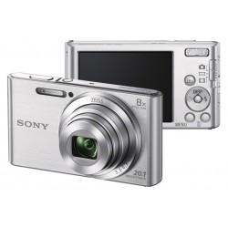 Sony camera in silver