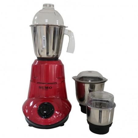 Sumo Hi-Tech 150 Red 500W 2YW Mixer Grinder