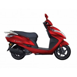 Honda Elite Red 124cc Scooter