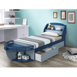 Harby Bed 107x190 cm With...
