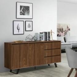 Ophelia Sideboard Walnut/Black