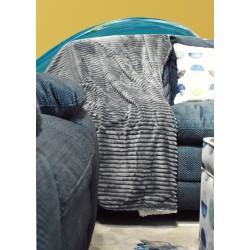 Mellow Grey Throws 127x178 cm