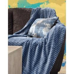 Mellow Blu Throws 127x178 cm