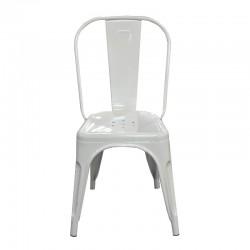 Fabio Chair White Finish