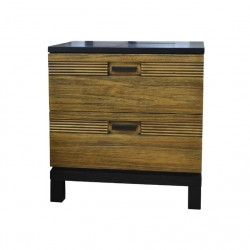 Briony Bed Side Table Honey...