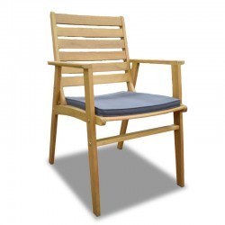 Plaza Chair Eucalyptus S.Wood