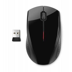 HP X3000 black wireless mouse